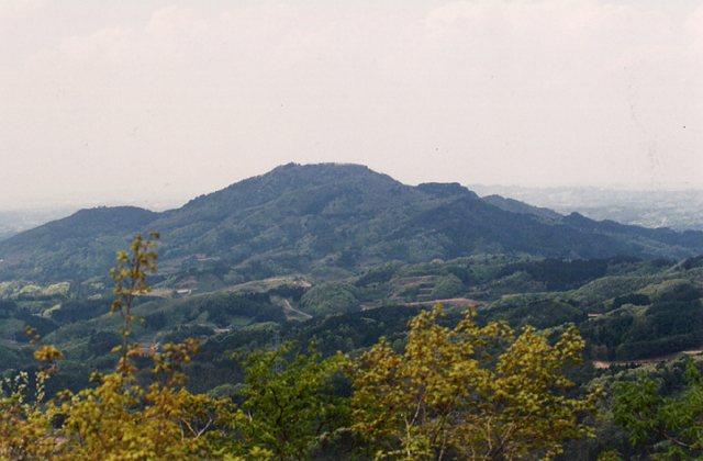 宇津峰(福島県須賀川市)