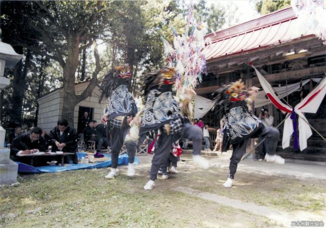 【2020年中止】小浜長折三匹獅子舞