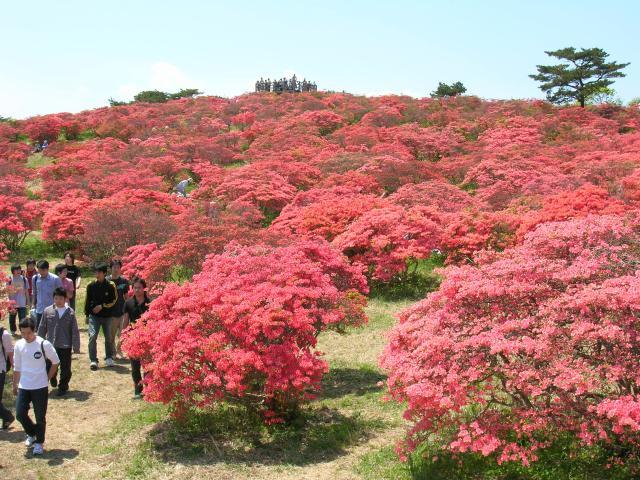 Takashiba mountain range difference