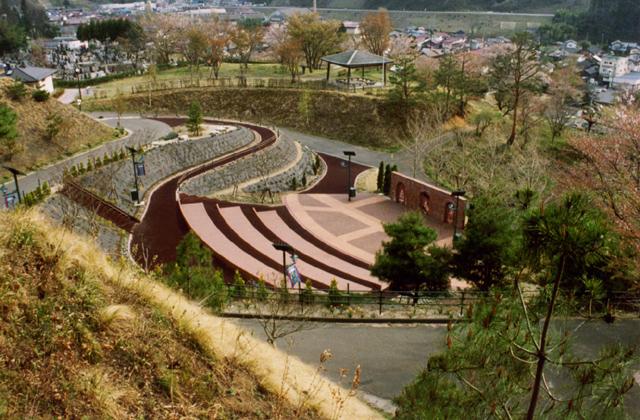 中央公園(福島県川俣町)