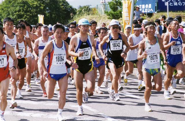 羽鳥湖畔マラソン大会