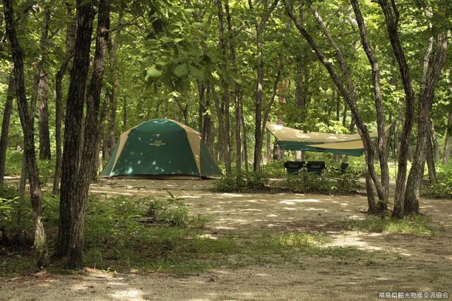 羽鳥湖畔オートキャンプ場