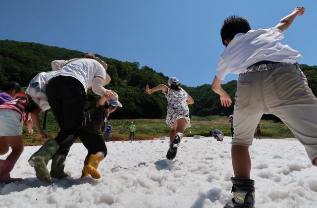 真夏の雪まつり※2021年開催中止