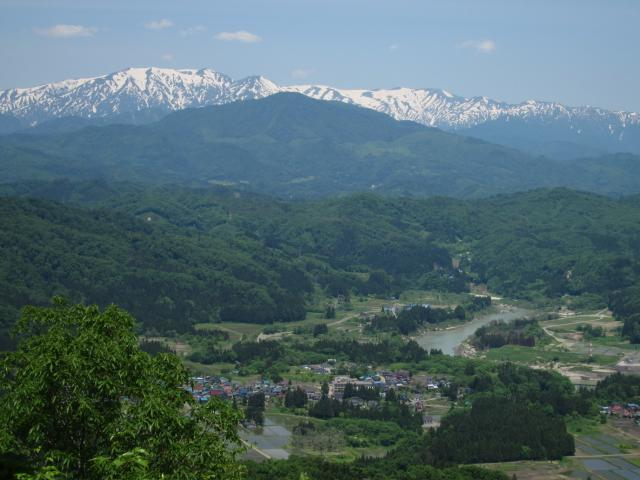 須刈岳(眺望)