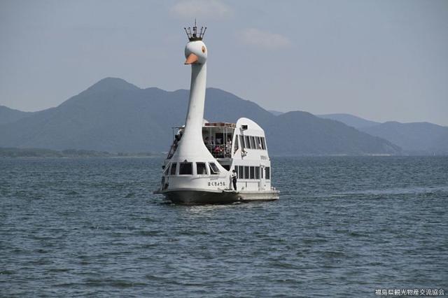 猪苗代湖遊覧船