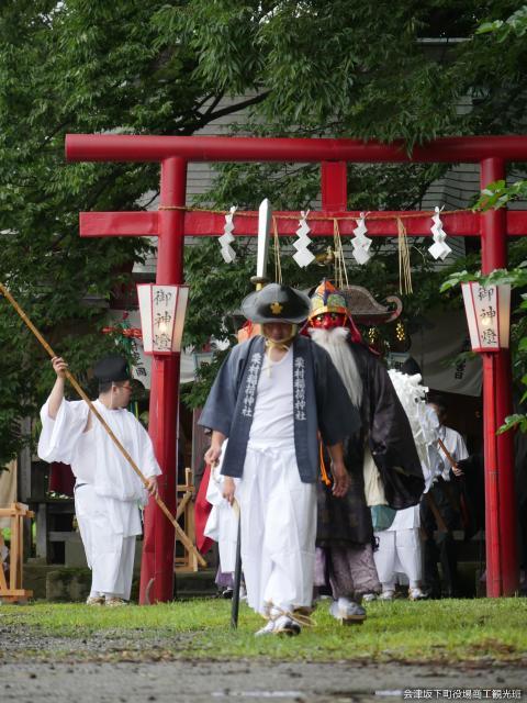 栗村稲荷神社御田植祭
