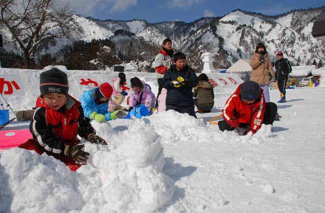 会津かねやま雪まつり