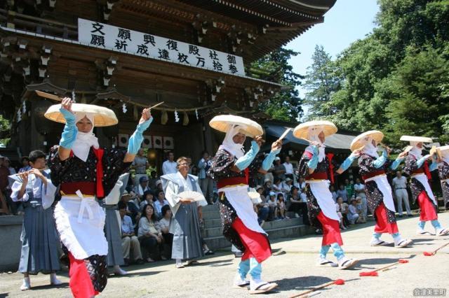 御田植祭(福島県会津美里町)