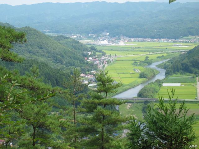 檜山からの眺め