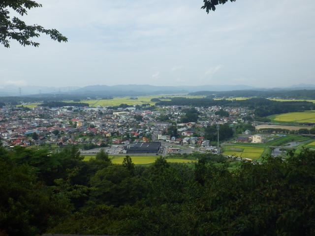 城山からの眺望