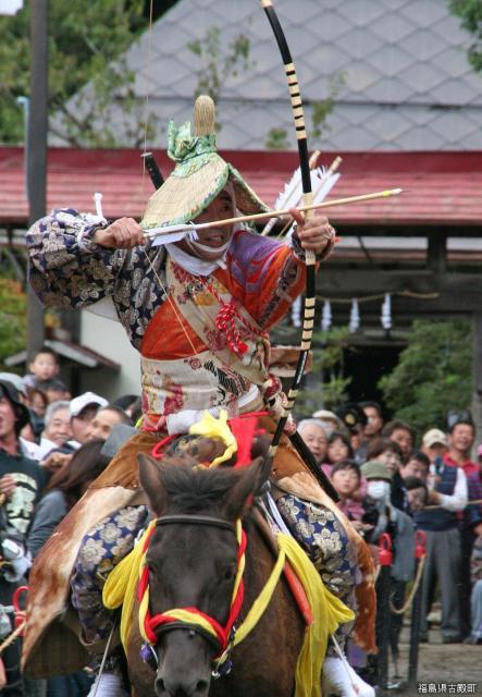 古殿八幡神社例大祭