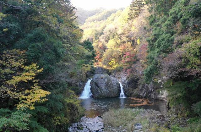 木戸川渓谷遊歩道