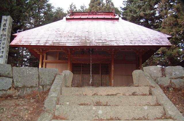 八幡神社(福島県葛尾村)