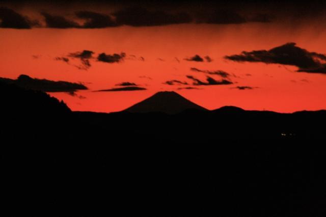 夕焼け富士山観賞会