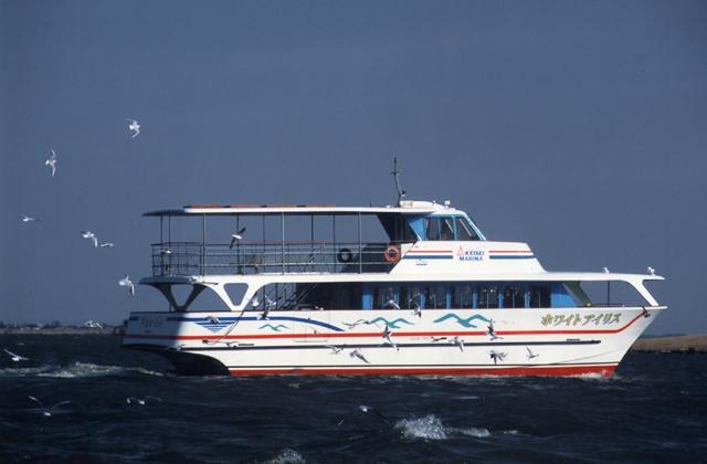 霞ヶ浦湖上めぐり遊覧船