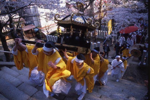 筑波山神社御座替祭