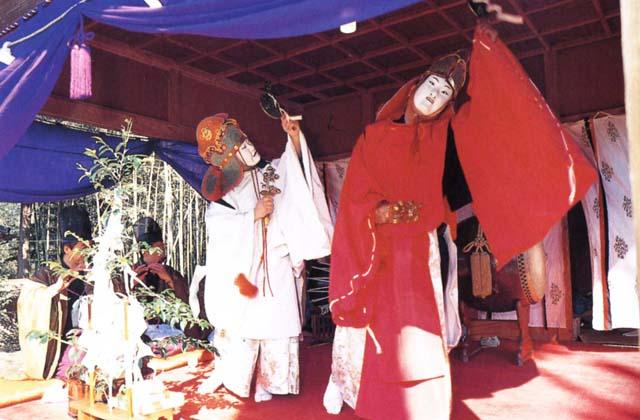 Daidai Kagura (Shinto Theatrical Dance), Sekimoto Shrine