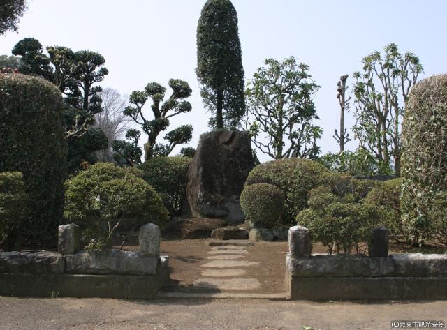 岩井営所跡(島広山)