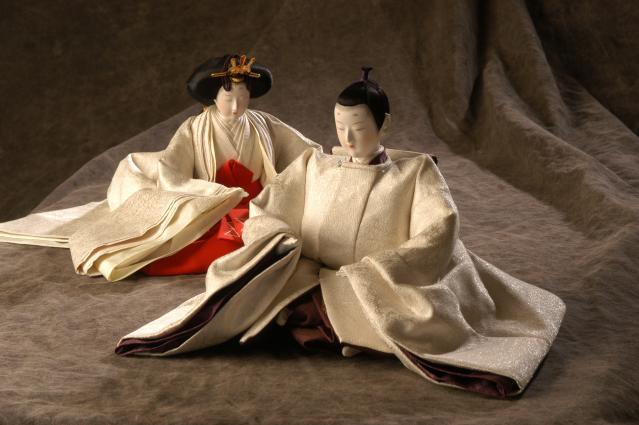 桂の雛人形