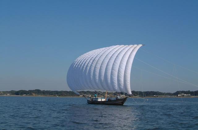 観光帆引き船(玉造地区)