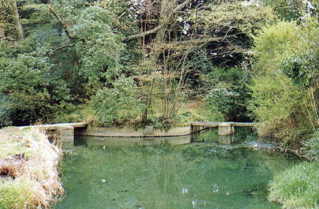 江運用水旧溝「宮裏両樋」