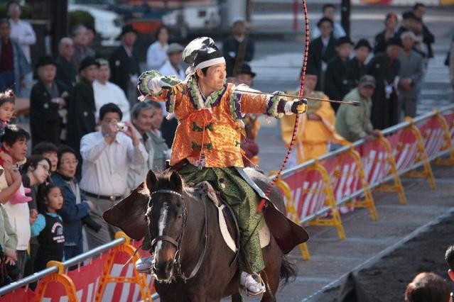 【2020年度流鏑馬中止】菊水祭