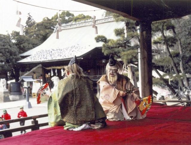 宇都宮二荒山神社太々神楽(イメージ)
