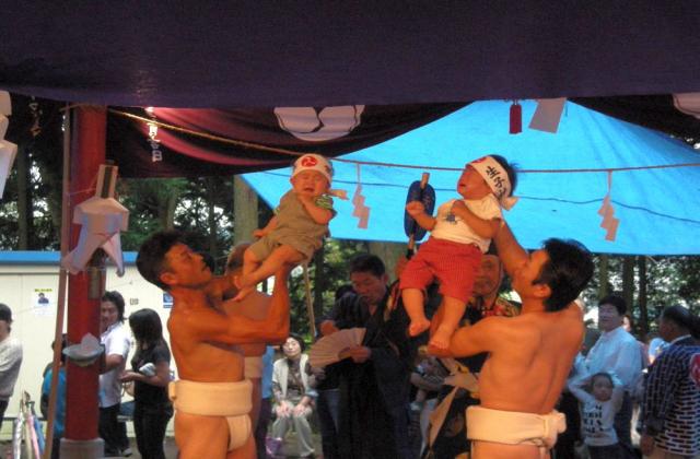 【2020年度中止】生子神社の泣き相撲
