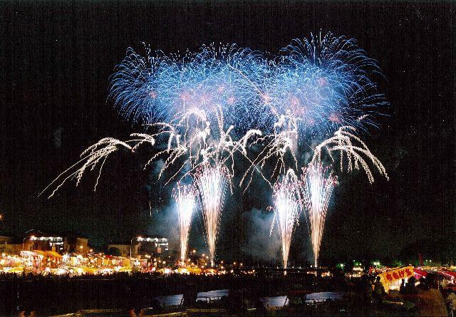 鹿沼さつき祭り協賛花火大会<令和3年は中止となりました>