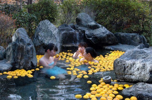 ゆず湯風呂キャンペーン