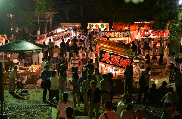 高田の夜祭り
