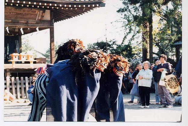 大日堂獅子舞