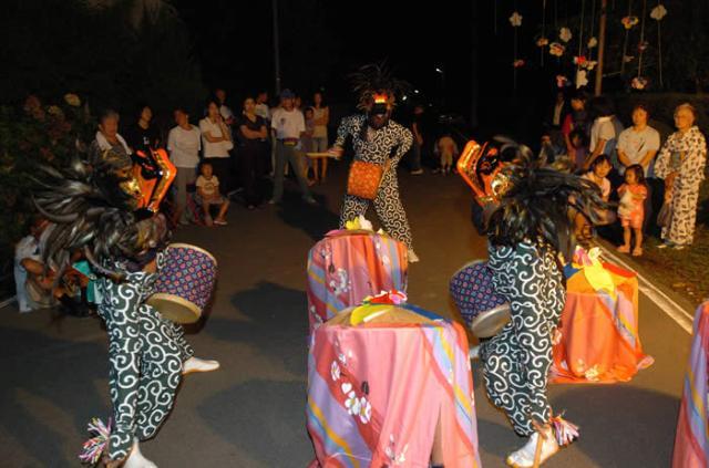 森田の獅子舞