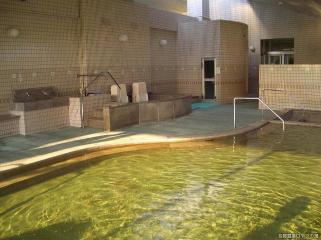 芳賀溫泉浪漫的熱水