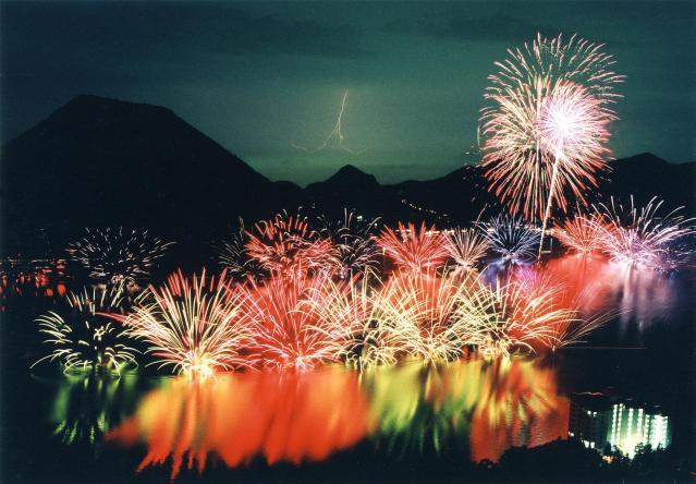 榛名の祭り花火大会