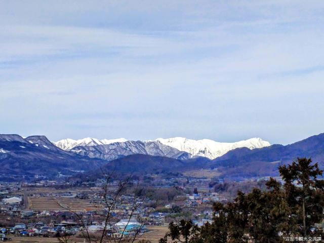 沼田八景 雪の上越連峯