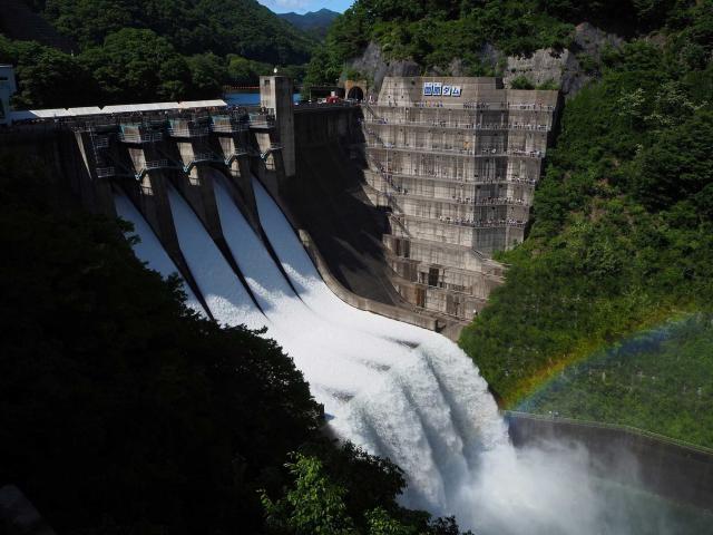 薗原湖堰堤まつり