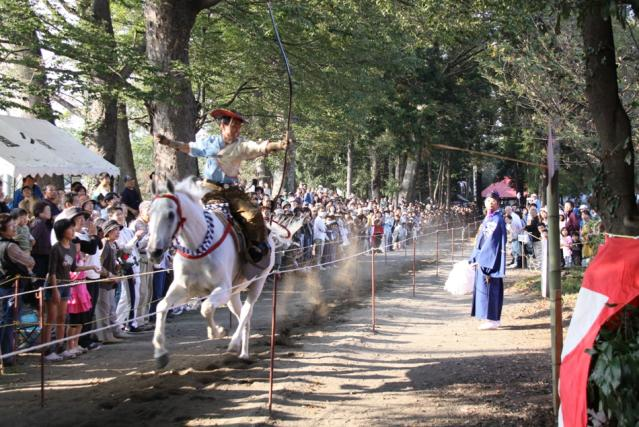 土師神社の秋祭り