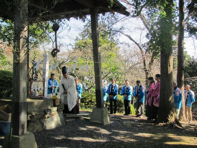 桜山山開き