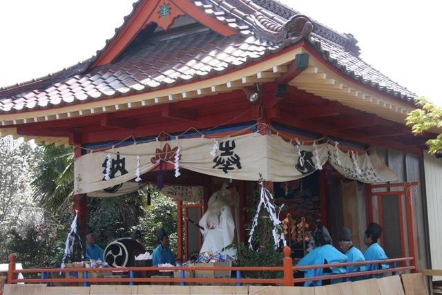 白倉神社春季例大祭