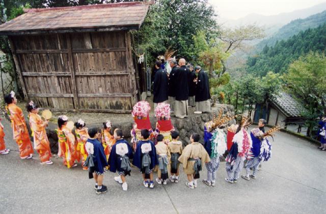 那須の獅子舞