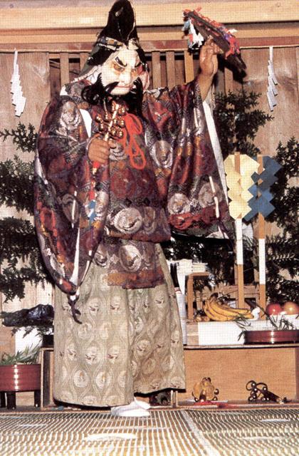 三島神社太々神楽(群馬県高山村)