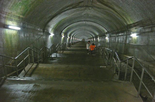 土合駅階段