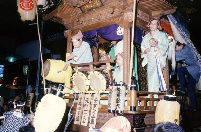川越祭りばやし(今福囃子連中)