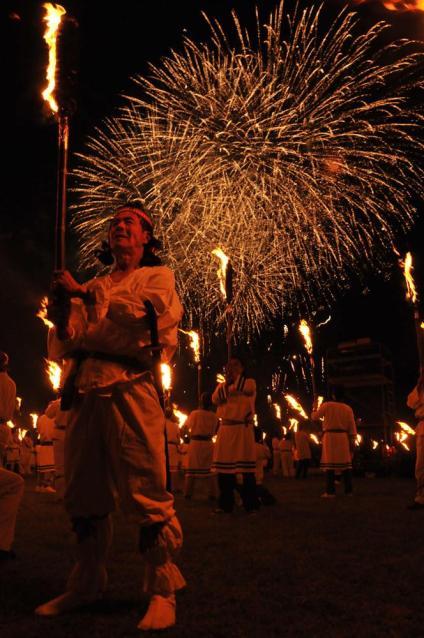 【2021年開催中止】さきたま火祭り