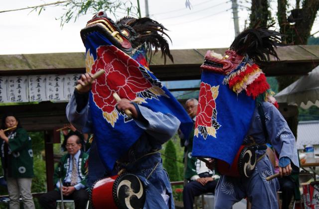 星宮神社獅子舞