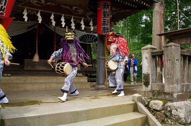 北川の獅子舞