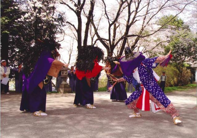 吉田林の獅子舞