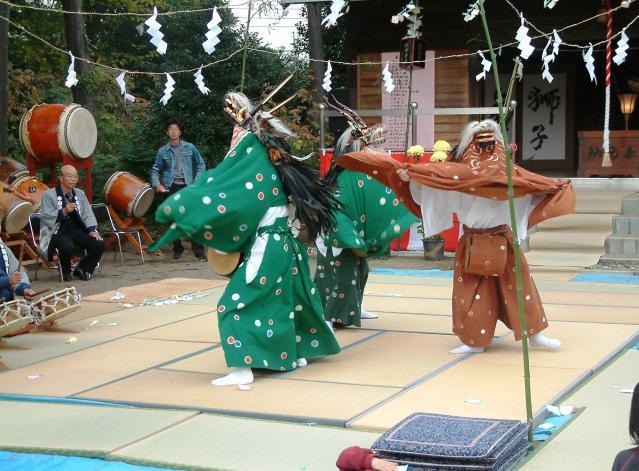 東中野の獅子舞
