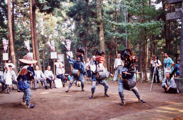 上谷ケ貫の獅子舞
